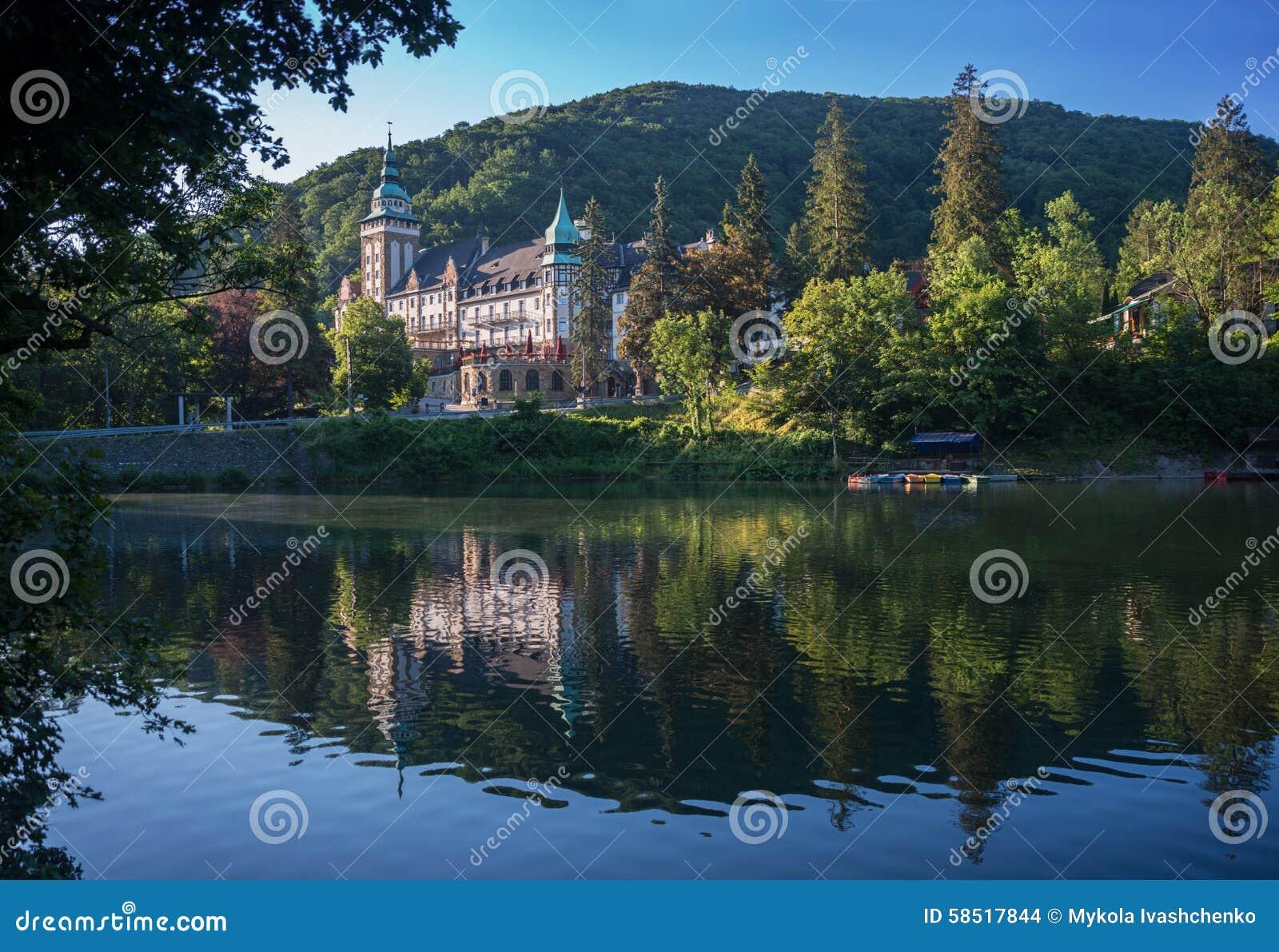 Lillafured pałac - Węgry