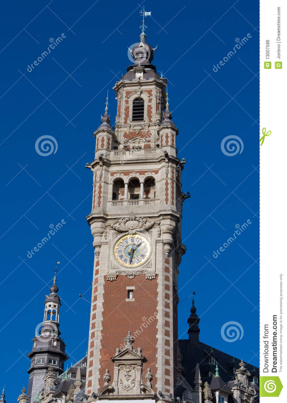 Lille france royalty free stock image image 13007586 for Chambre commerce france