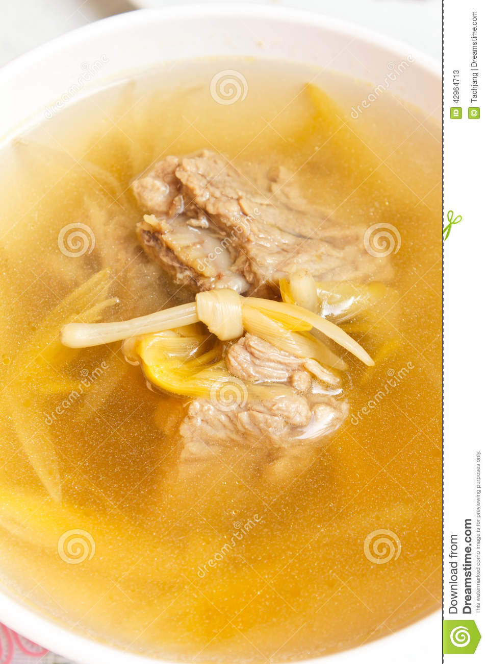 Lily flower and sparerib soup stock image image of style dinner download lily flower and sparerib soup stock image image of style dinner izmirmasajfo