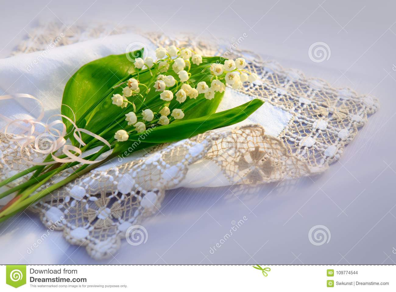 Lily of the valley bouquet on the table stock photo image of download lily of the valley bouquet on the table stock photo image of flower izmirmasajfo