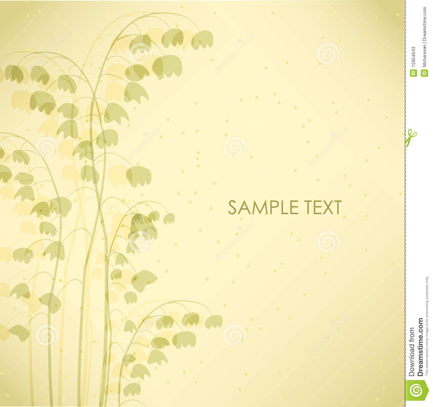 Lily Of The Valley. Vector Illustration Stock Illustration ...