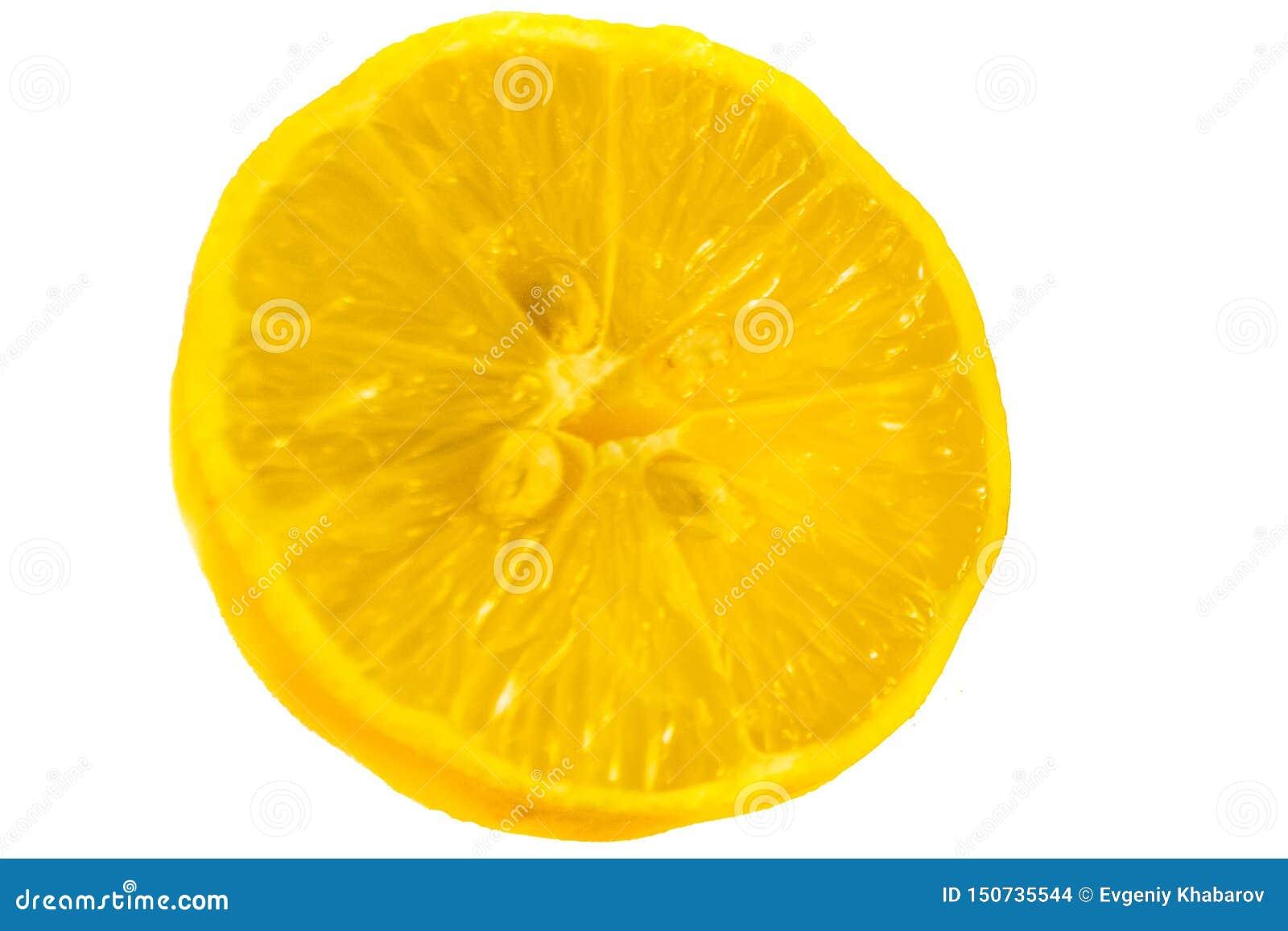 Limón de Juisy en un fondo blanco