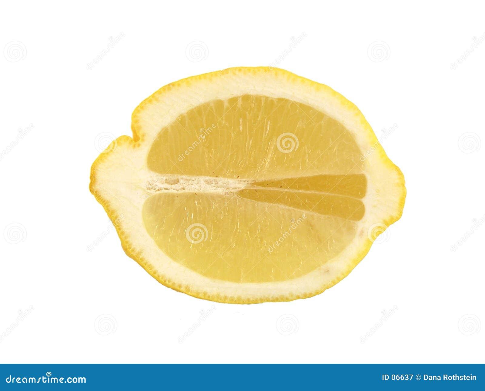 Limón rebanado