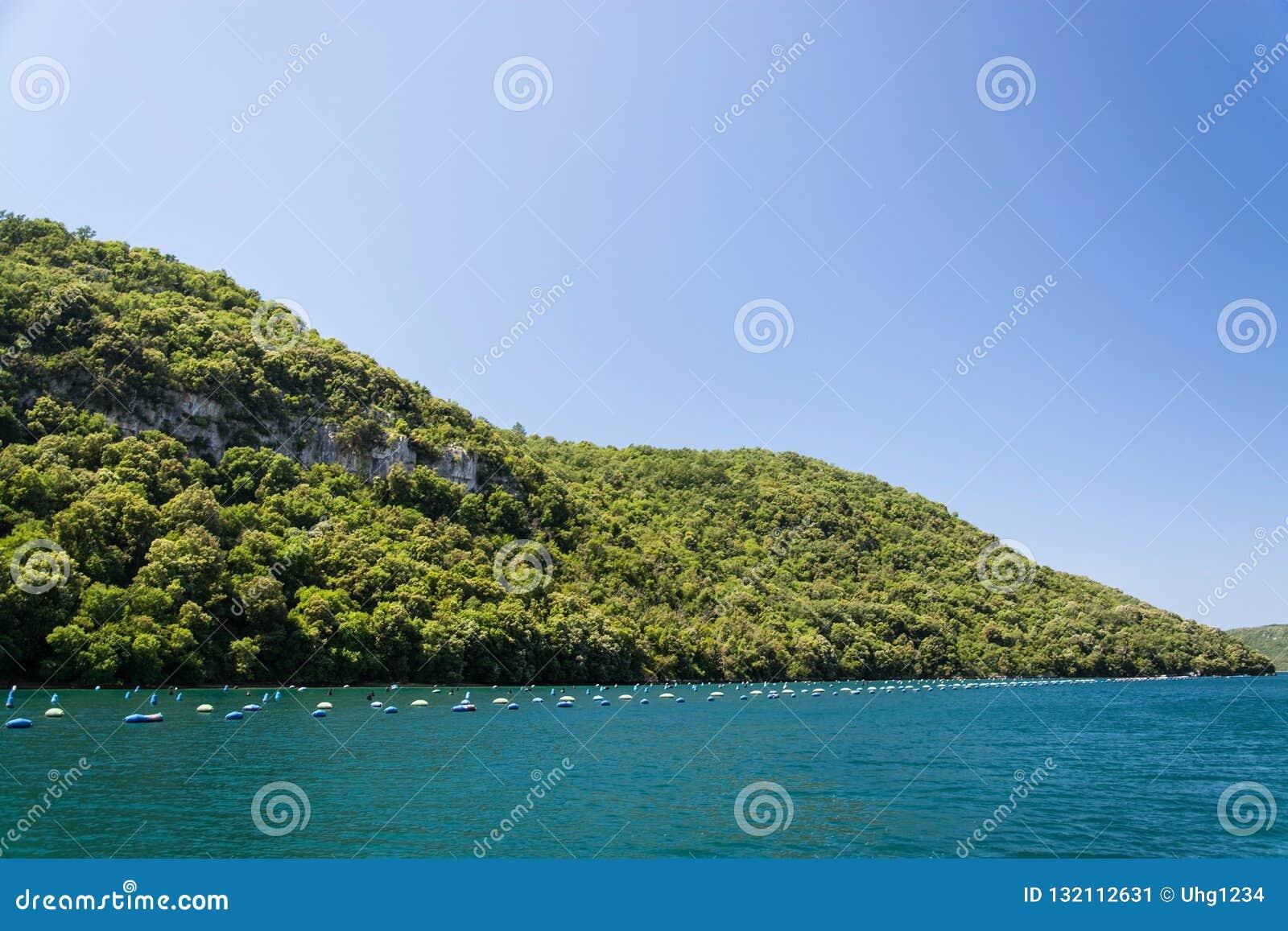 Lim-baie, Istria, Croatie