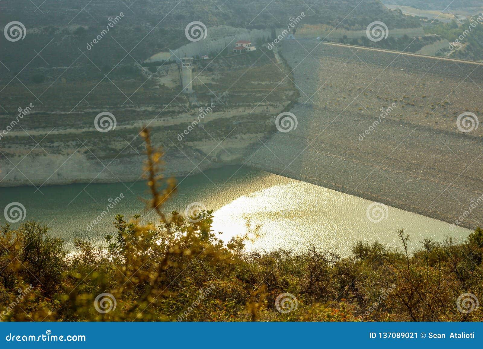 Alassa Dam water shortage at 25