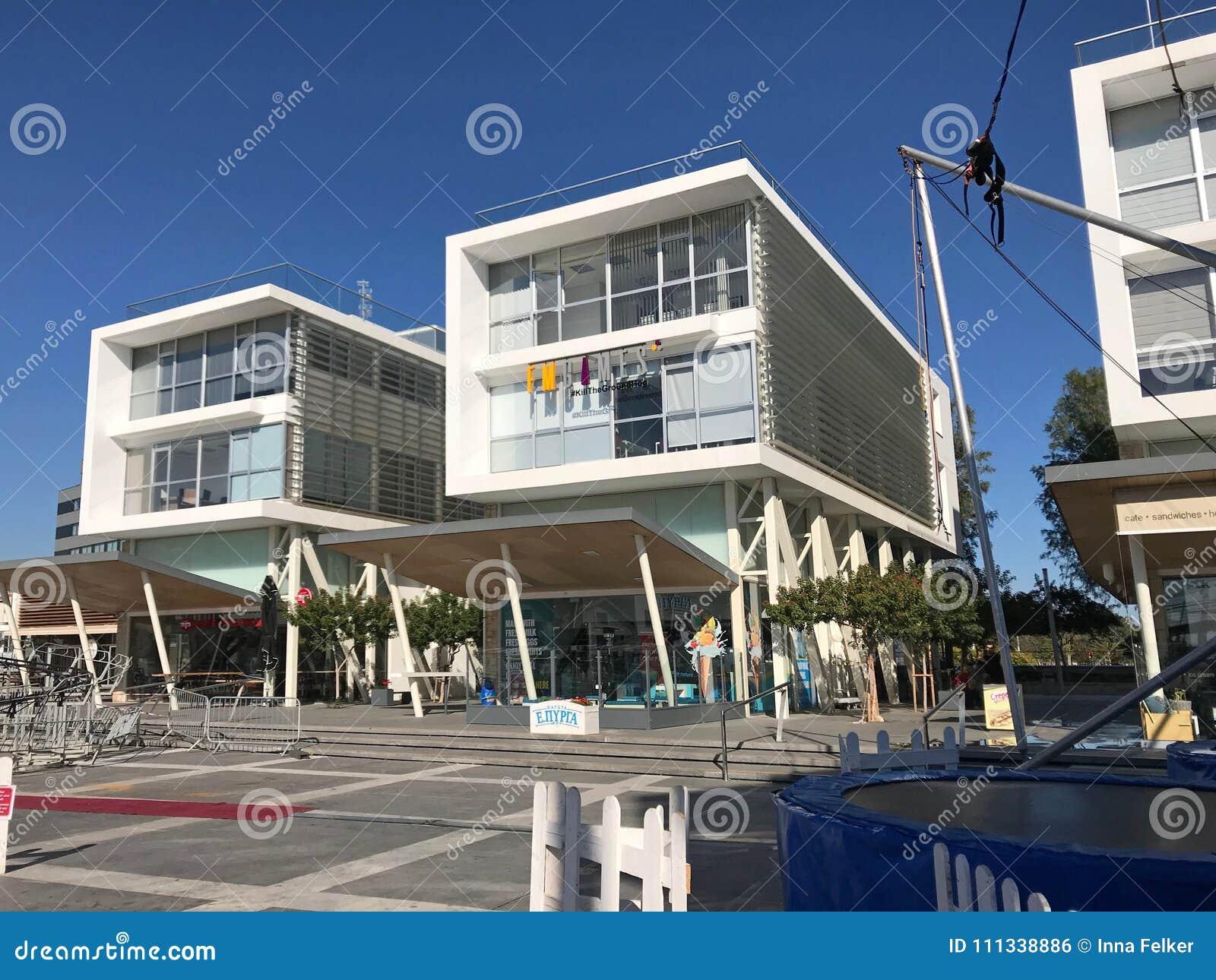 Limassol Old Port with modern restaurants, Limassol, Cyprus