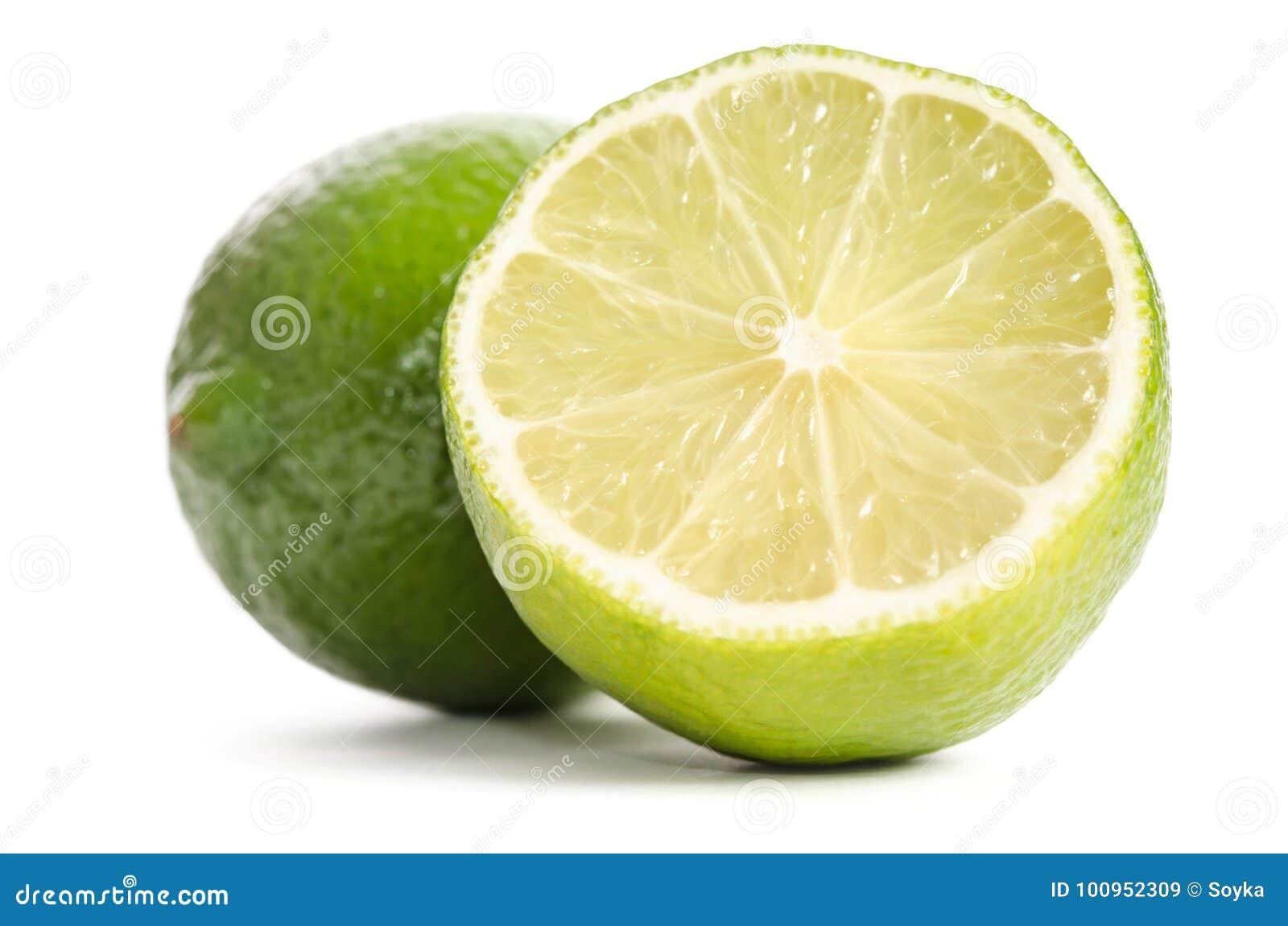 Lime and half of lime