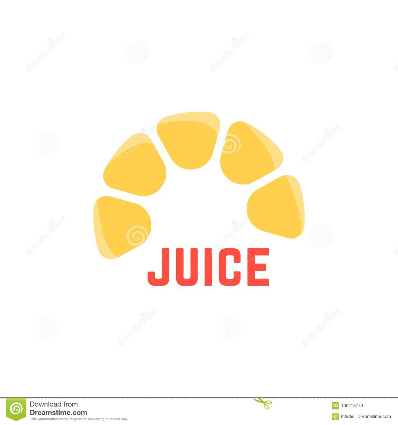 lime juice simple logo stock vector illustration of cafe 100213779
