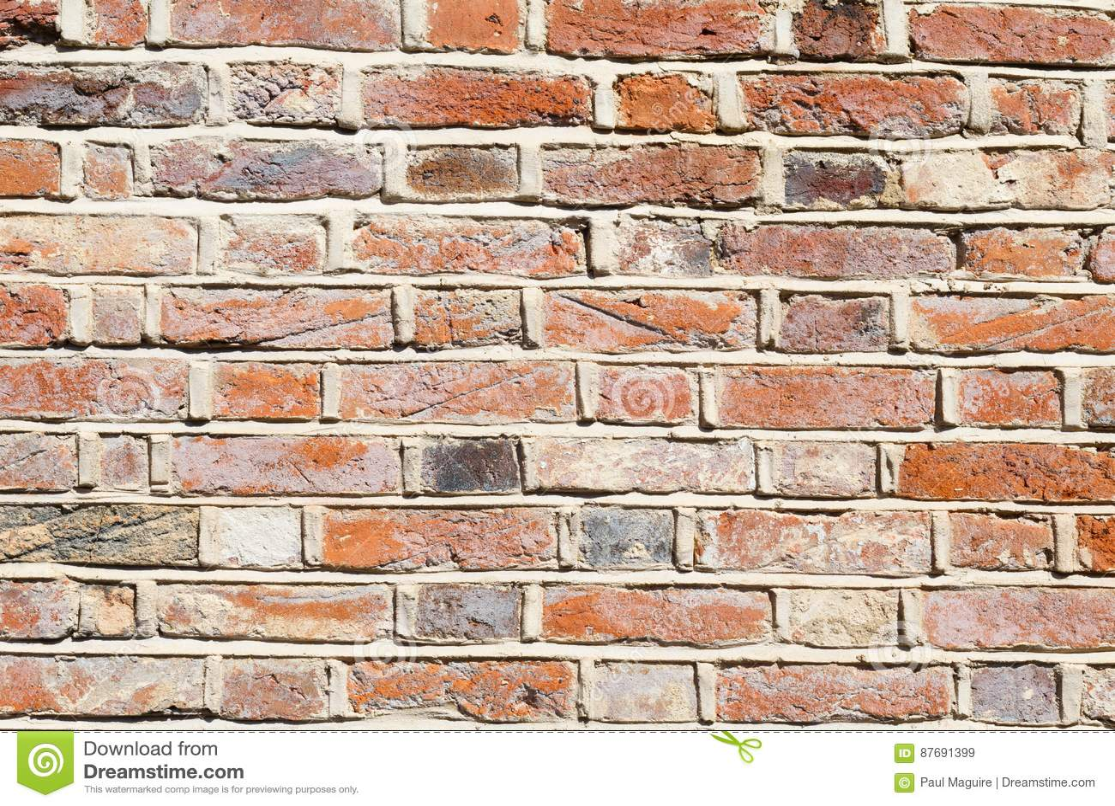 Lime Brick On Image : Lime mortar brick wall background stock image