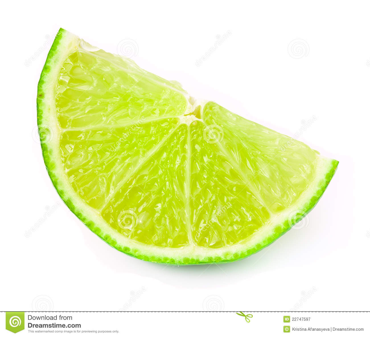 Lime Slice Royalty Free Stock Photography - Image: 22747597