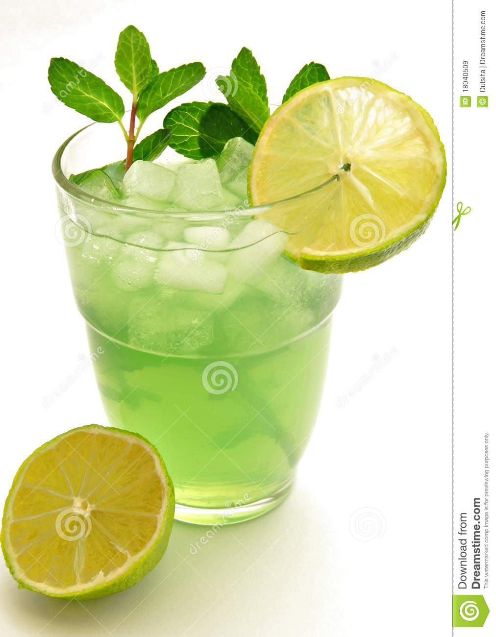 Lime Soda Royalty Free Stock Images - Image: 18040509