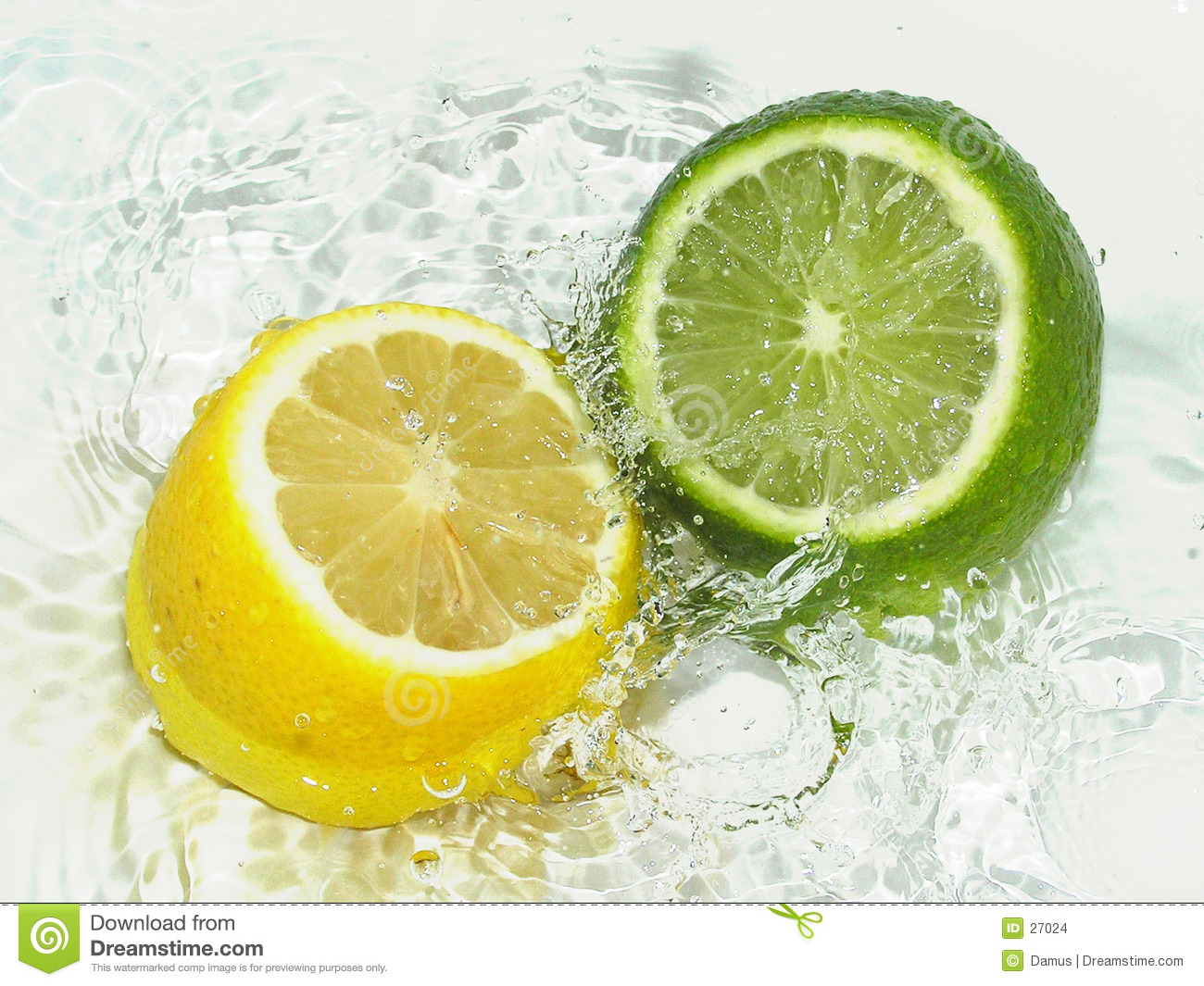 Lime vs Lemon stock photo. Image of freshness, clean, lime ...