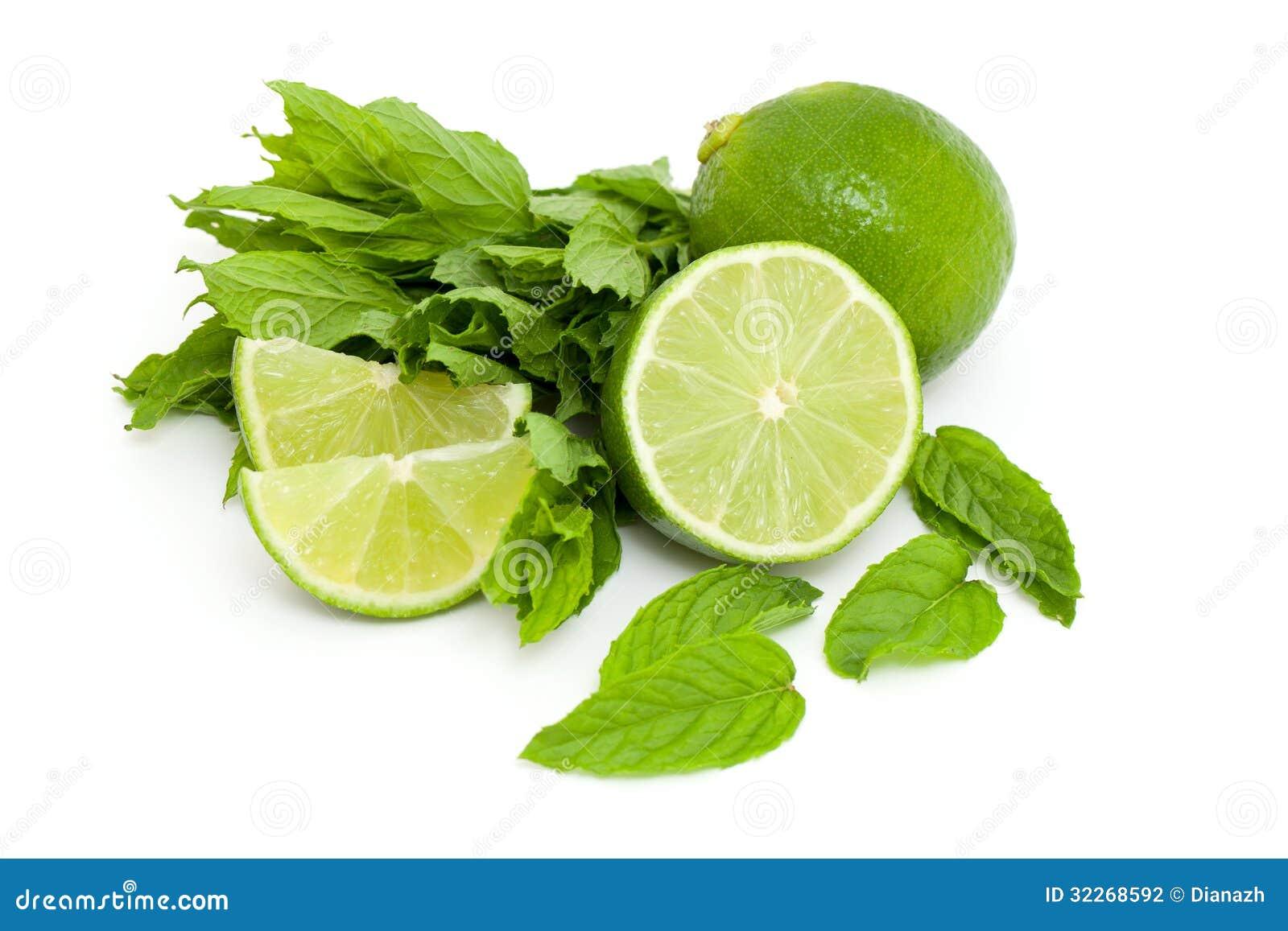 Limefrukt och mintkaramell