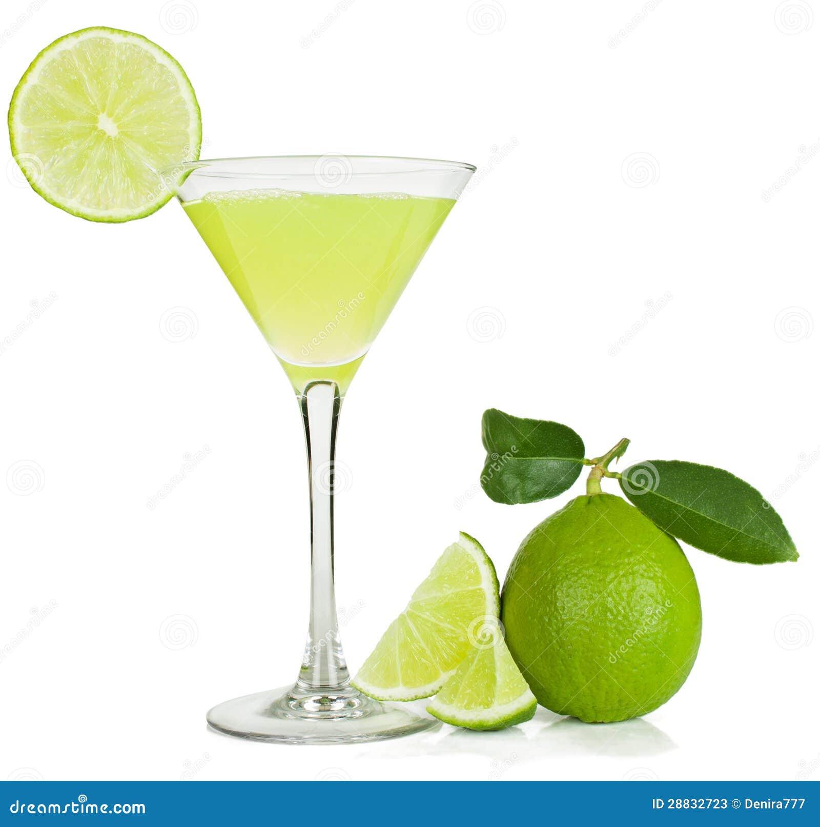 Limefruktfruktsaft och limefrukt