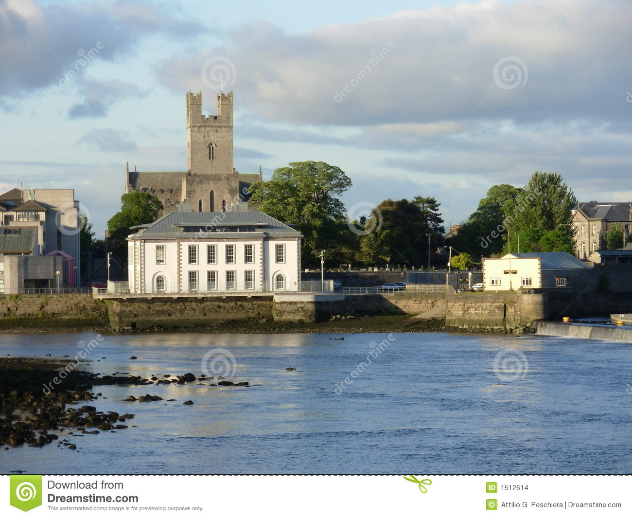Limerick Ireland  city photo : Limerick Ireland Stock Images Image: 1512614