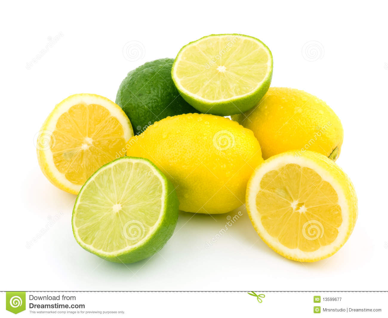 Limes and lemons stock image. Image of drop, lime, fresh ...
