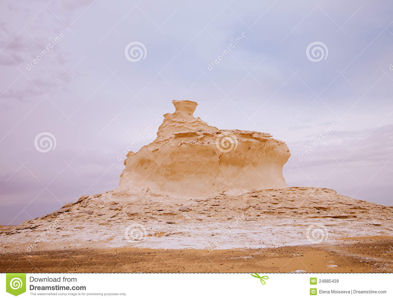 The Limestone Formation Rocks A Cake Royalty Free Stock ...