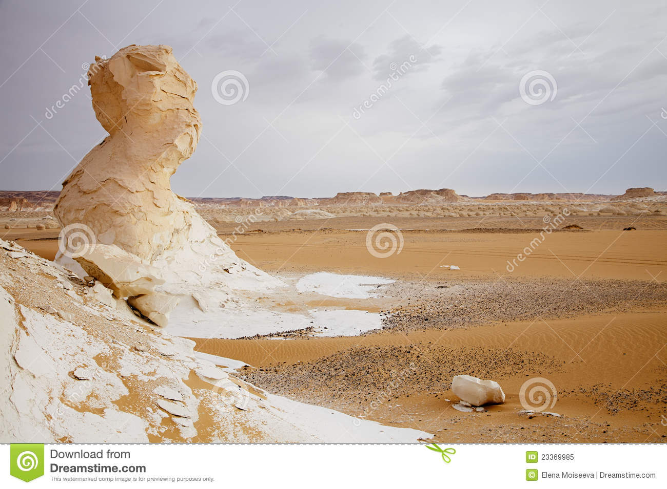 The Limestone Formation Rocks In The Sahara, Egypt Royalty ...