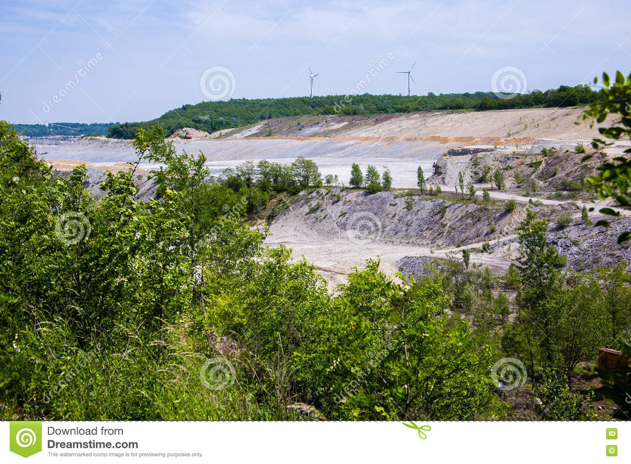 Download LIMESTONE MINING Cement stock image. Image of cement - 73223903