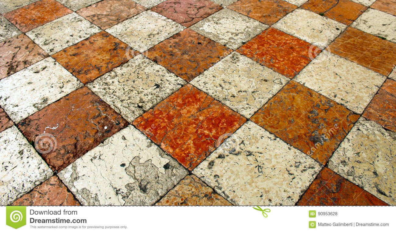 Limestone Square Tiles Stock Photo Image Of Background 90953628