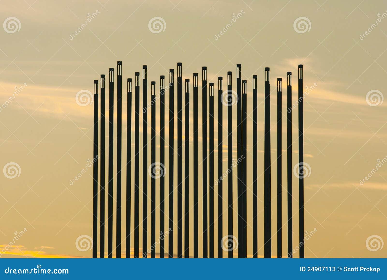Limite del vento della prateria a Saskatoon, Canada