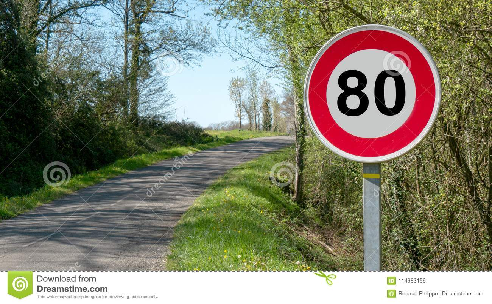 Limitez la vitesse à 80 km/h sur les routes françaises