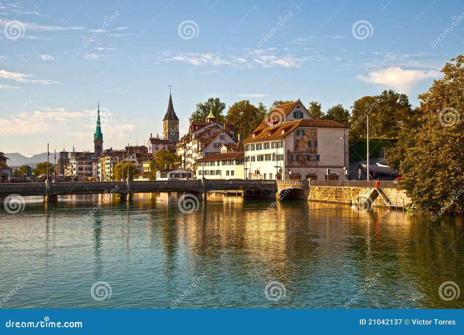 Limmat Fluss, Zürich