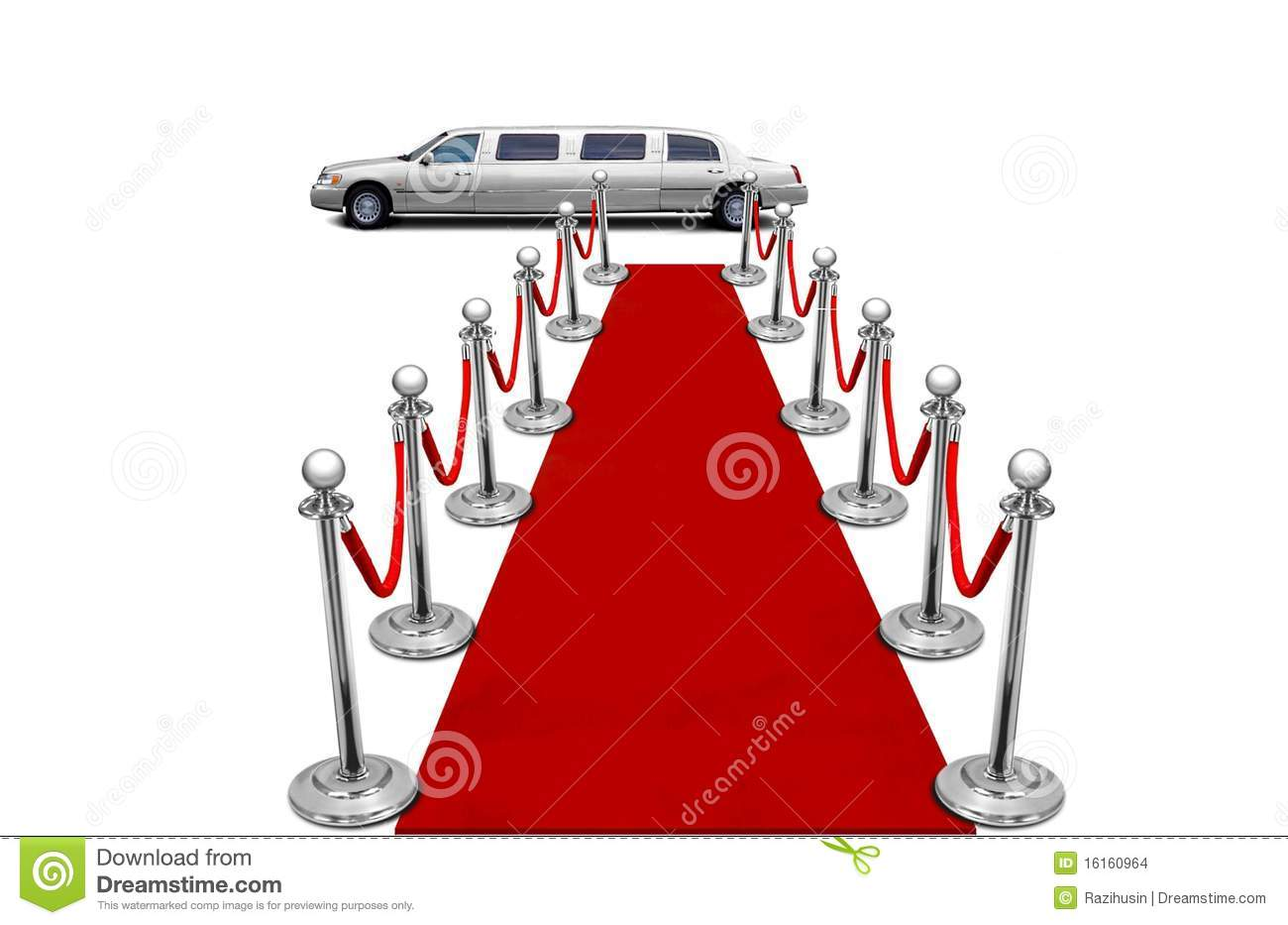 Limo And Red Carpet Stock Images Image 16160964