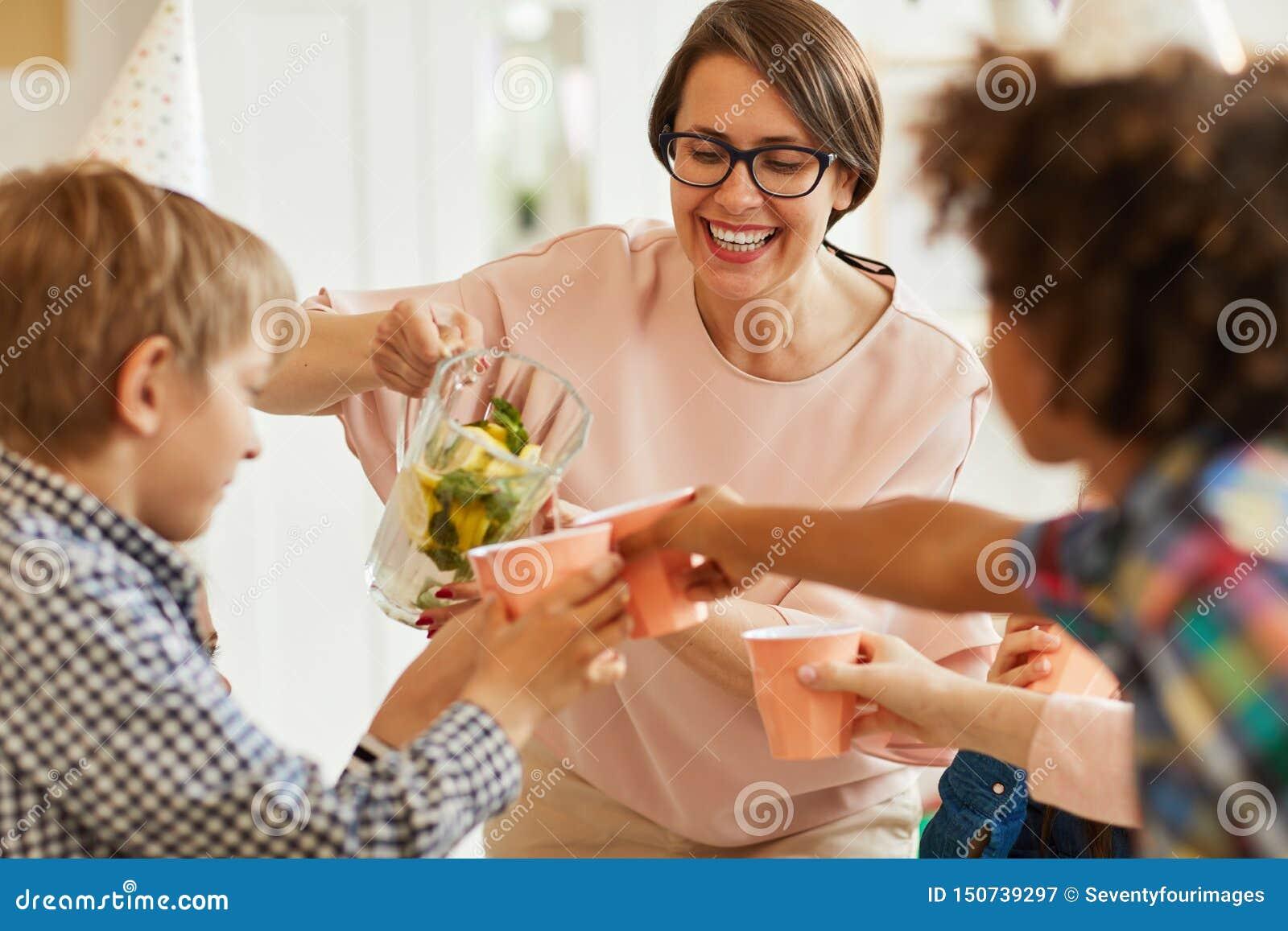 Limonada para los niños
