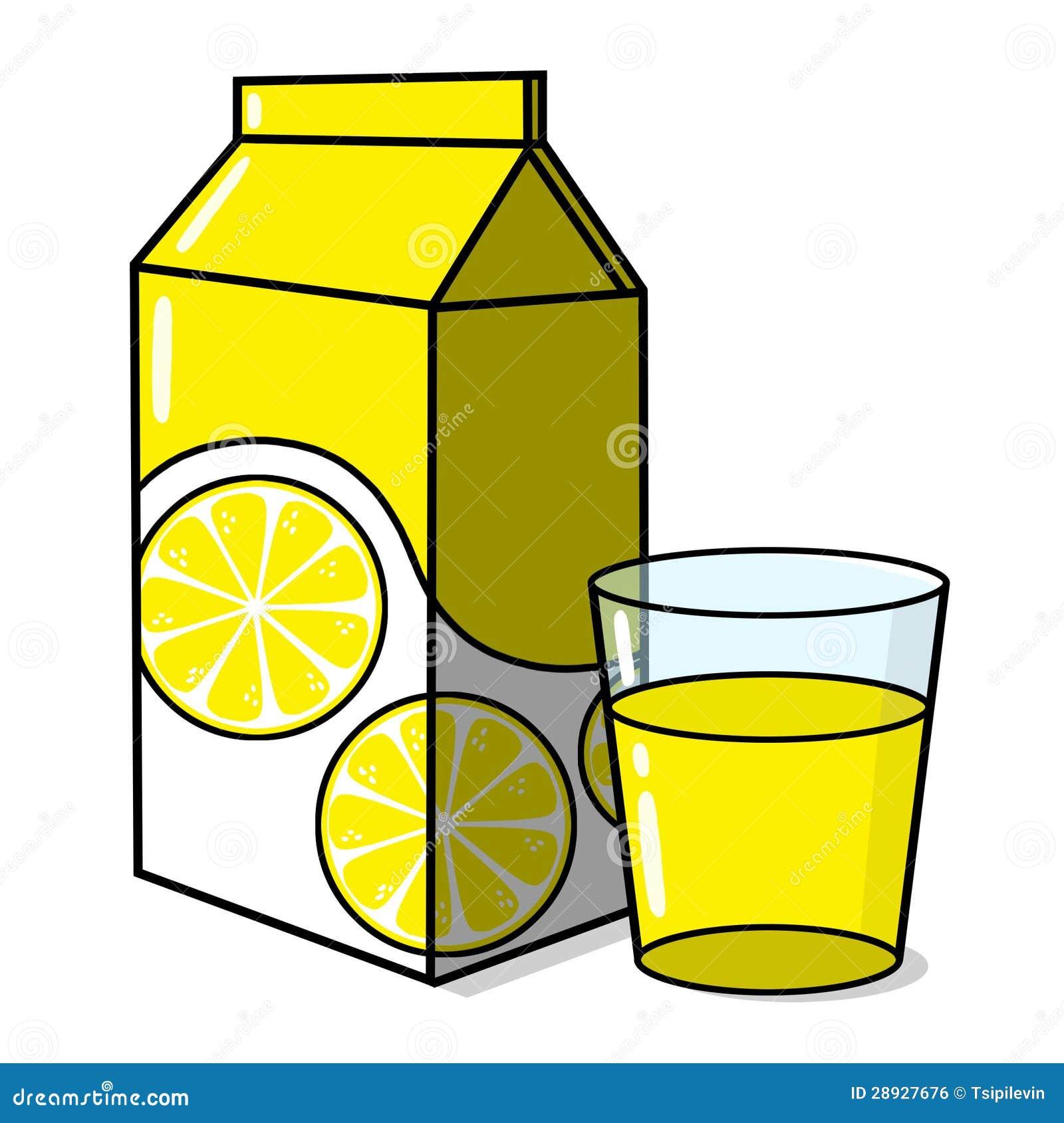 Limonade en een glas