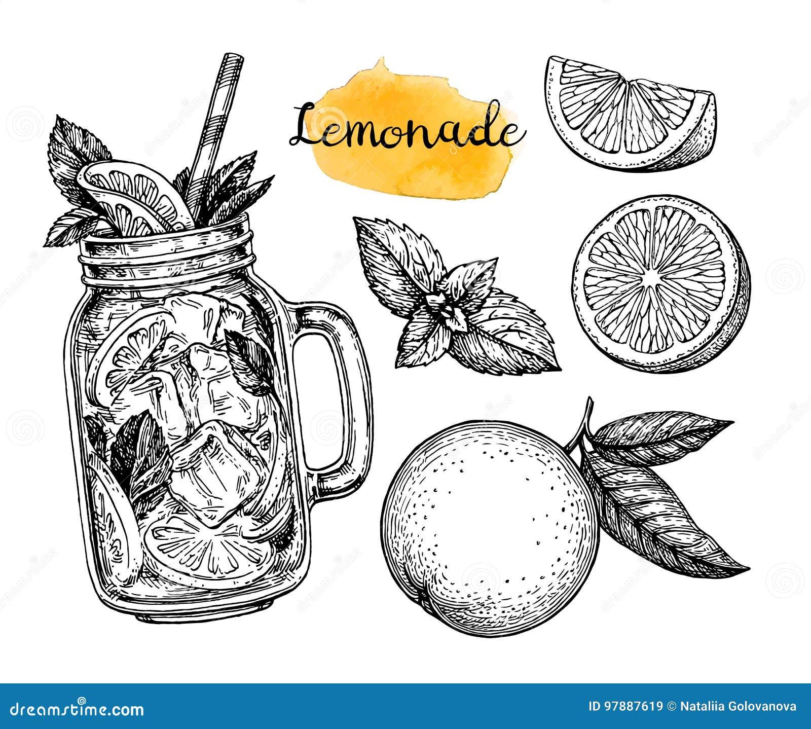 Limonade en ingrediënten