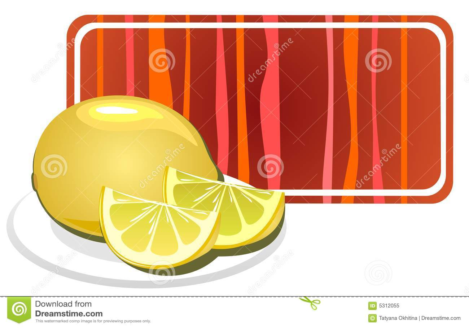 Download Limone illustrazione vettoriale. Illustrazione di squisito - 5312055