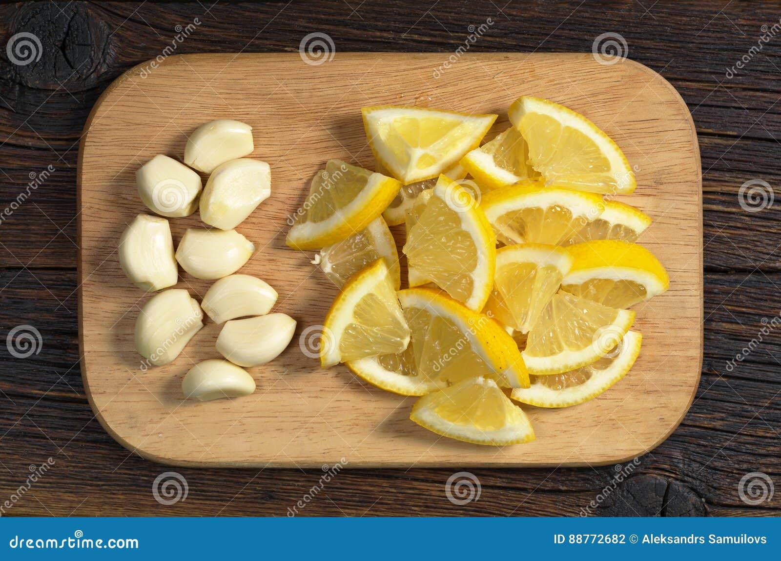 Limone ed aglio