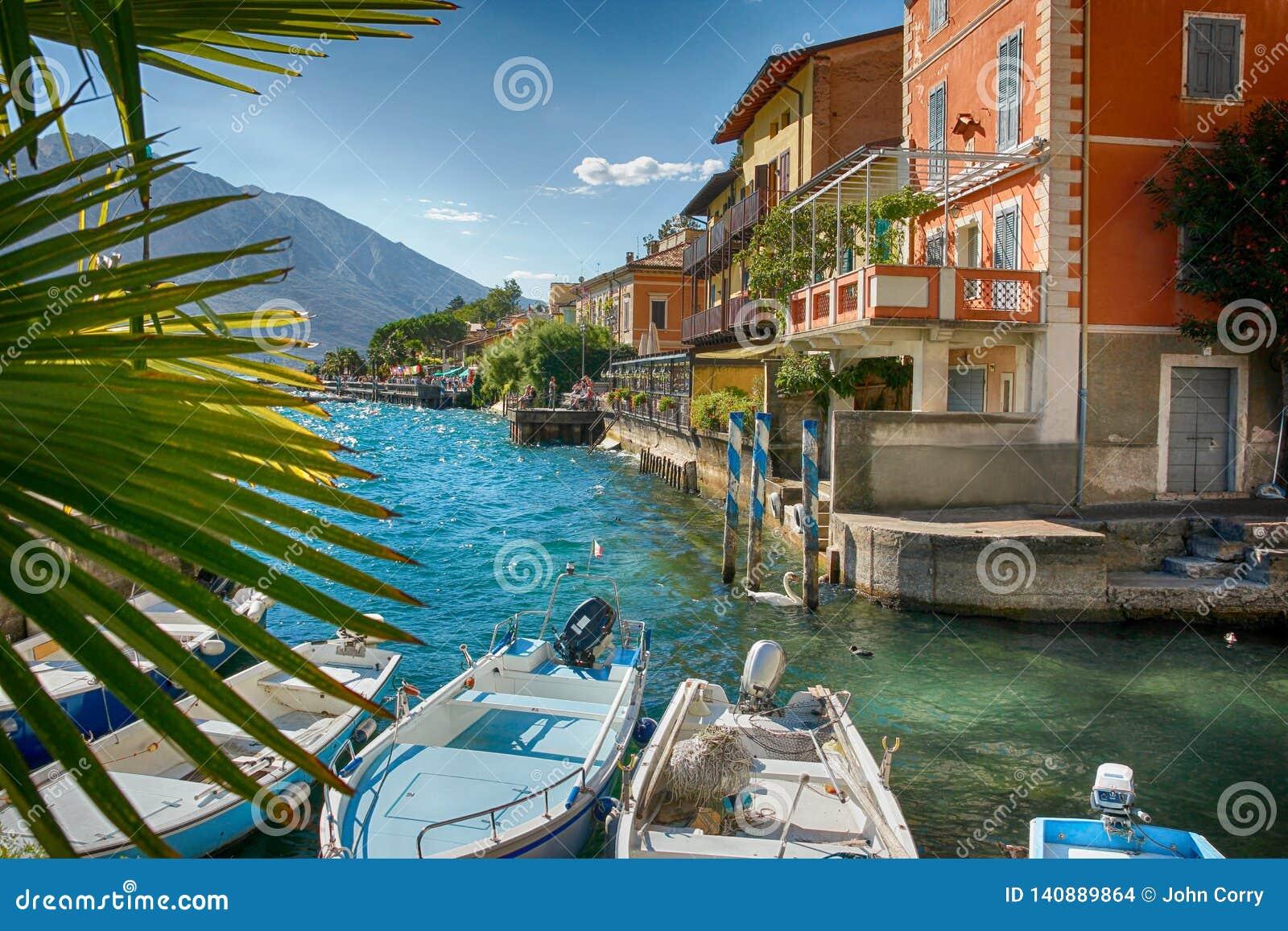 Limone, Jeziorny Garda, Włochy