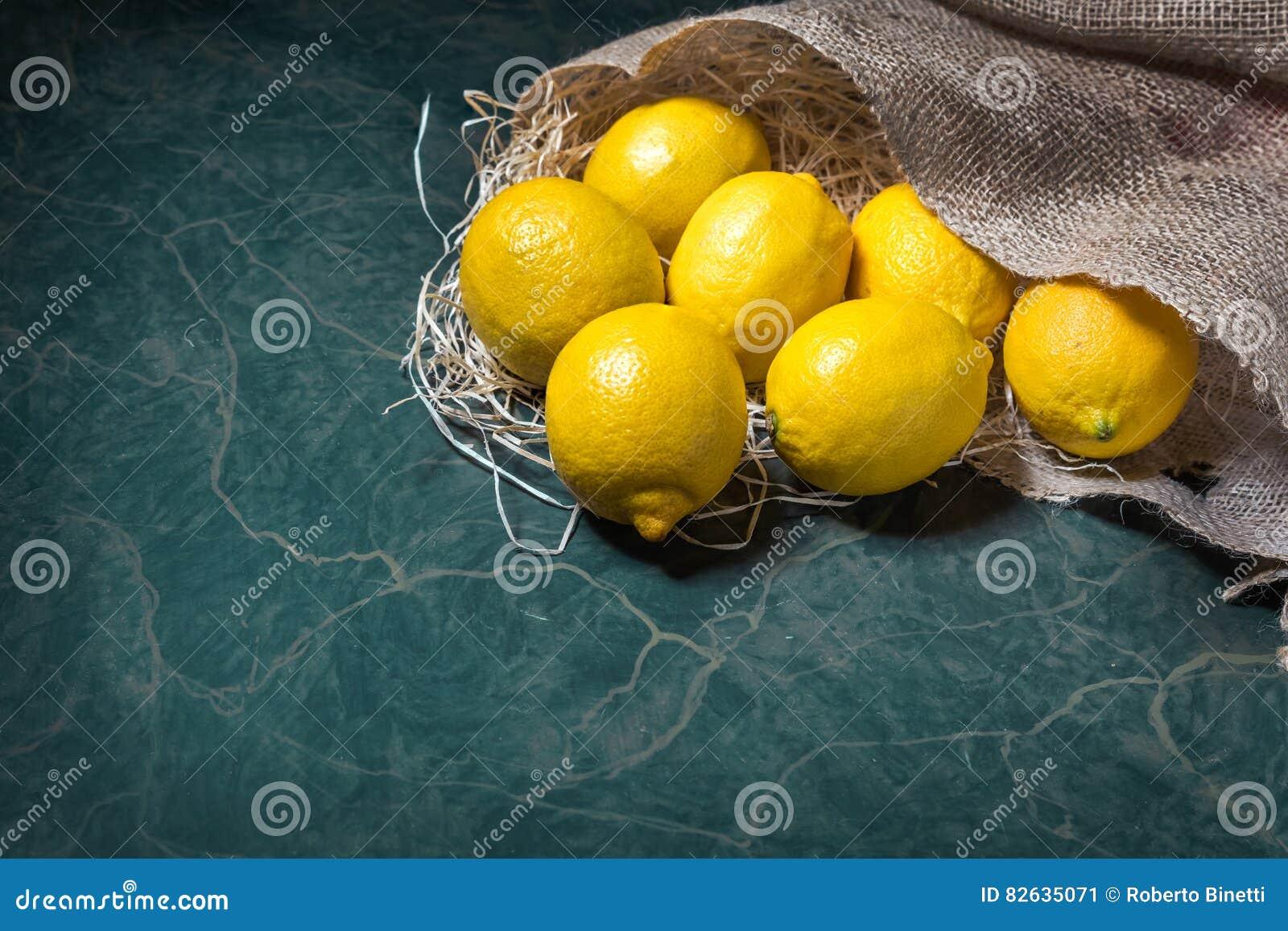 Resultado de imagen para saco de limones