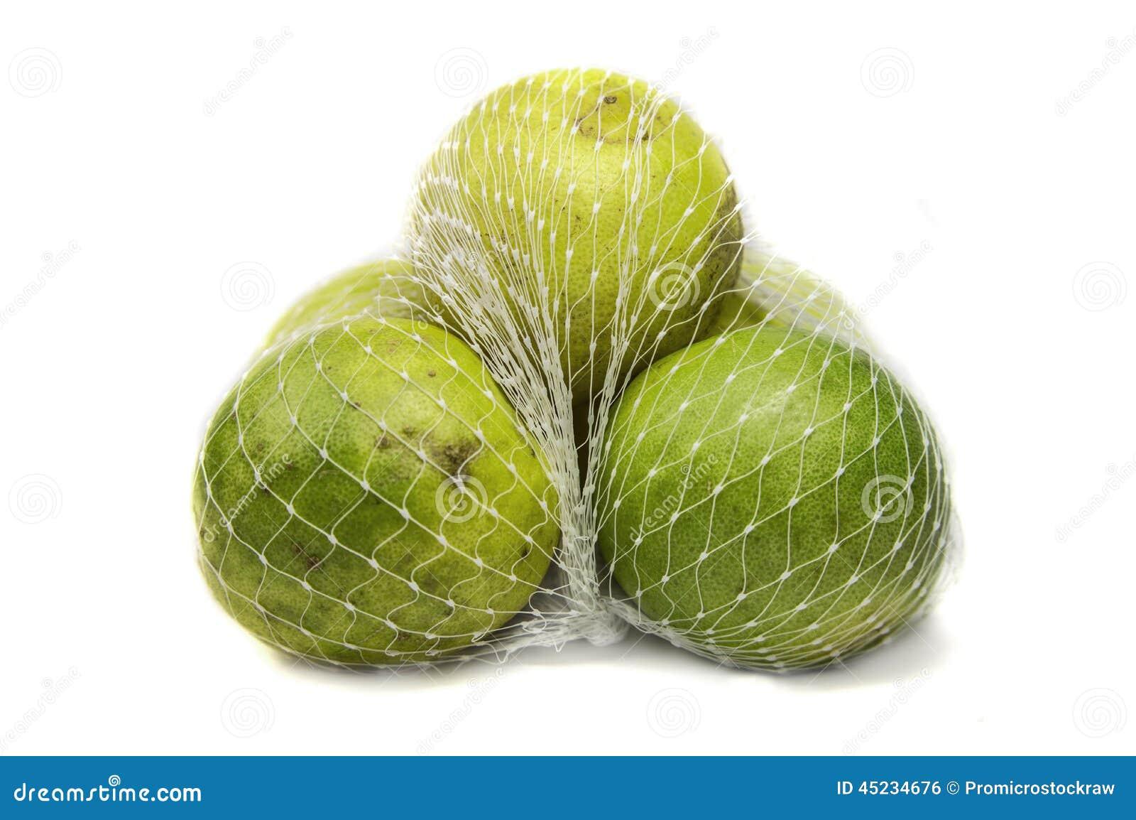 Limoni nella borsa della maglia