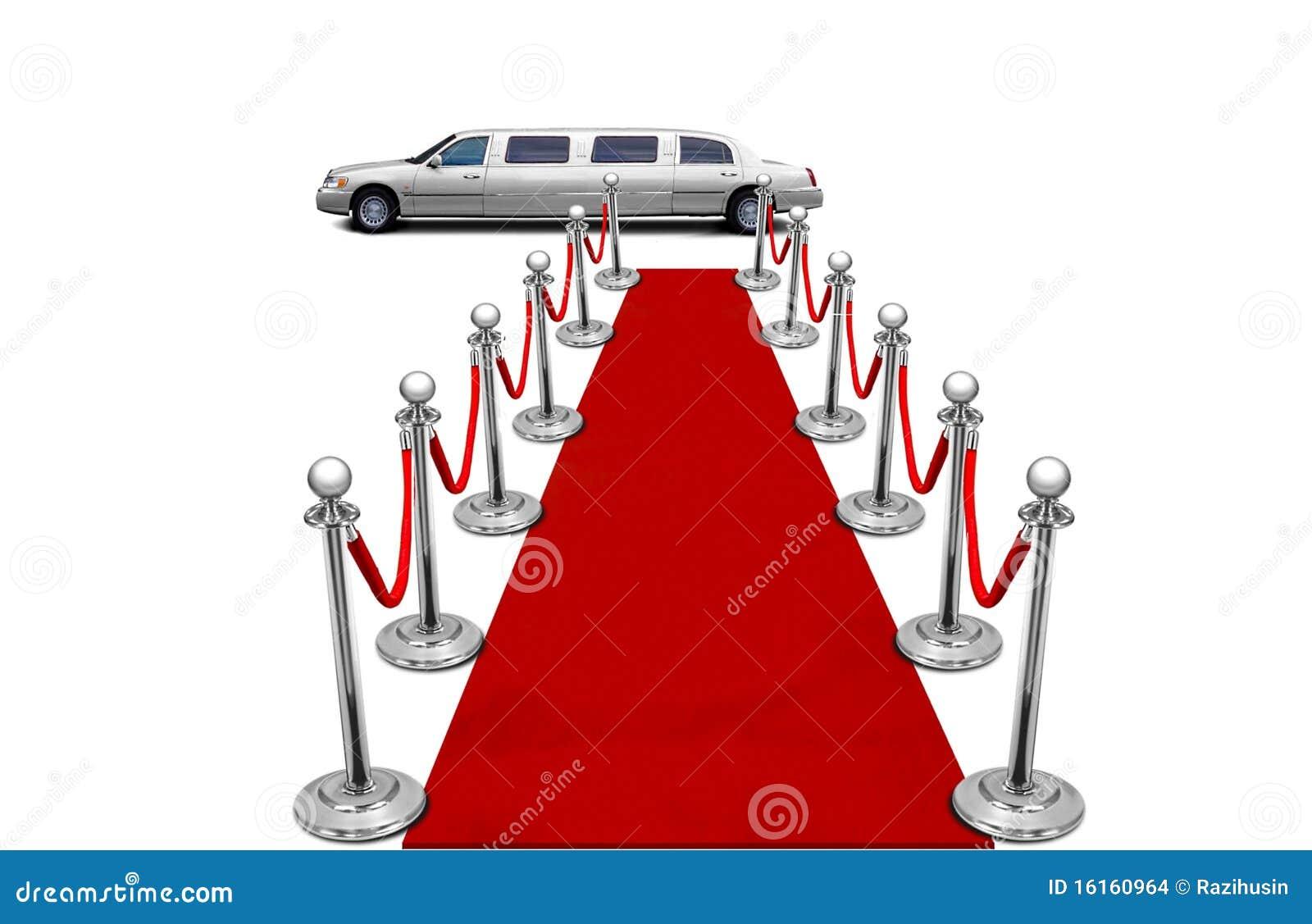 Limousine Et Tapis Rouge Images Stock Image 16160964