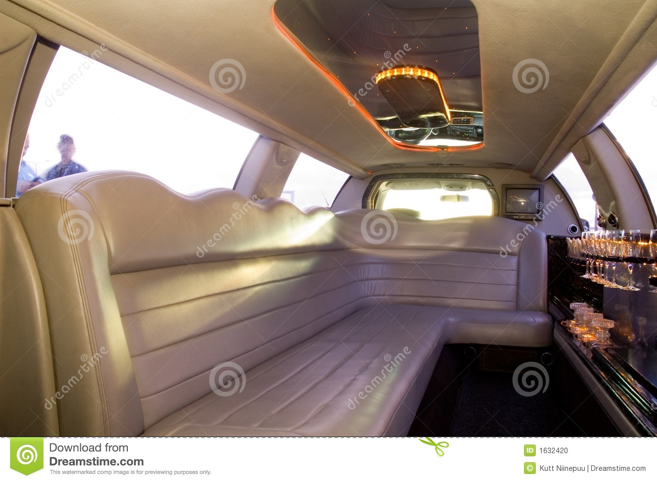 Limousine interior stock photo image of monstrous mini - Interior leather bar free online ...