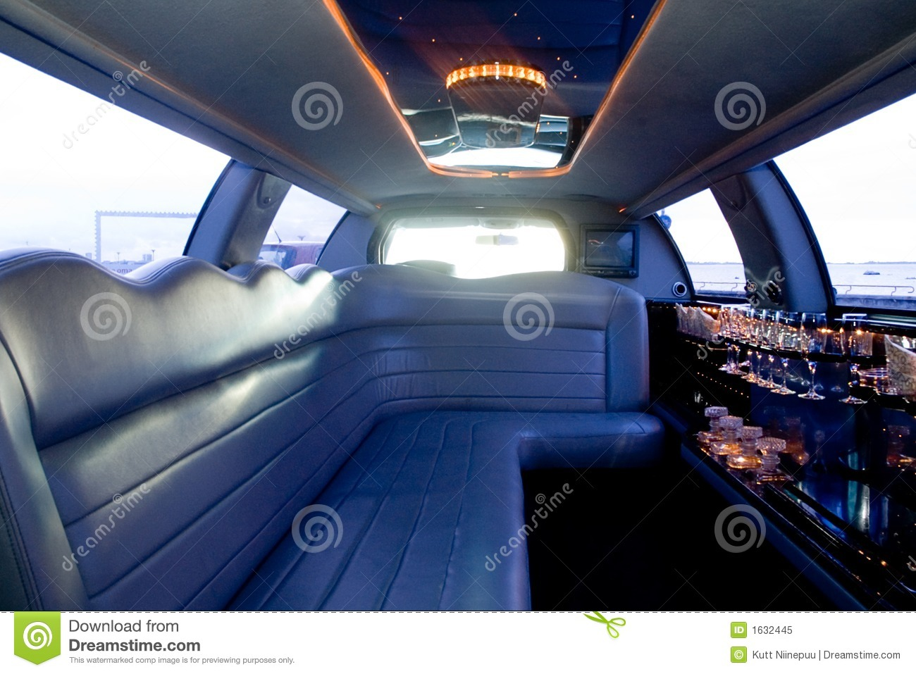 Limousine interior stock image image of hollywood classy - Interior leather bar free online ...