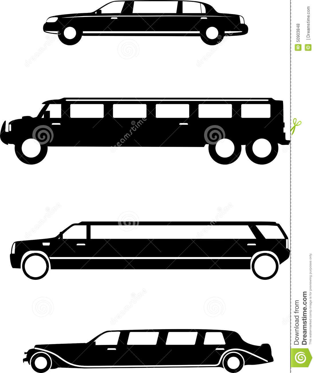 Limousine Stock Vector Illustration Of Lincoln Mariage 50903848