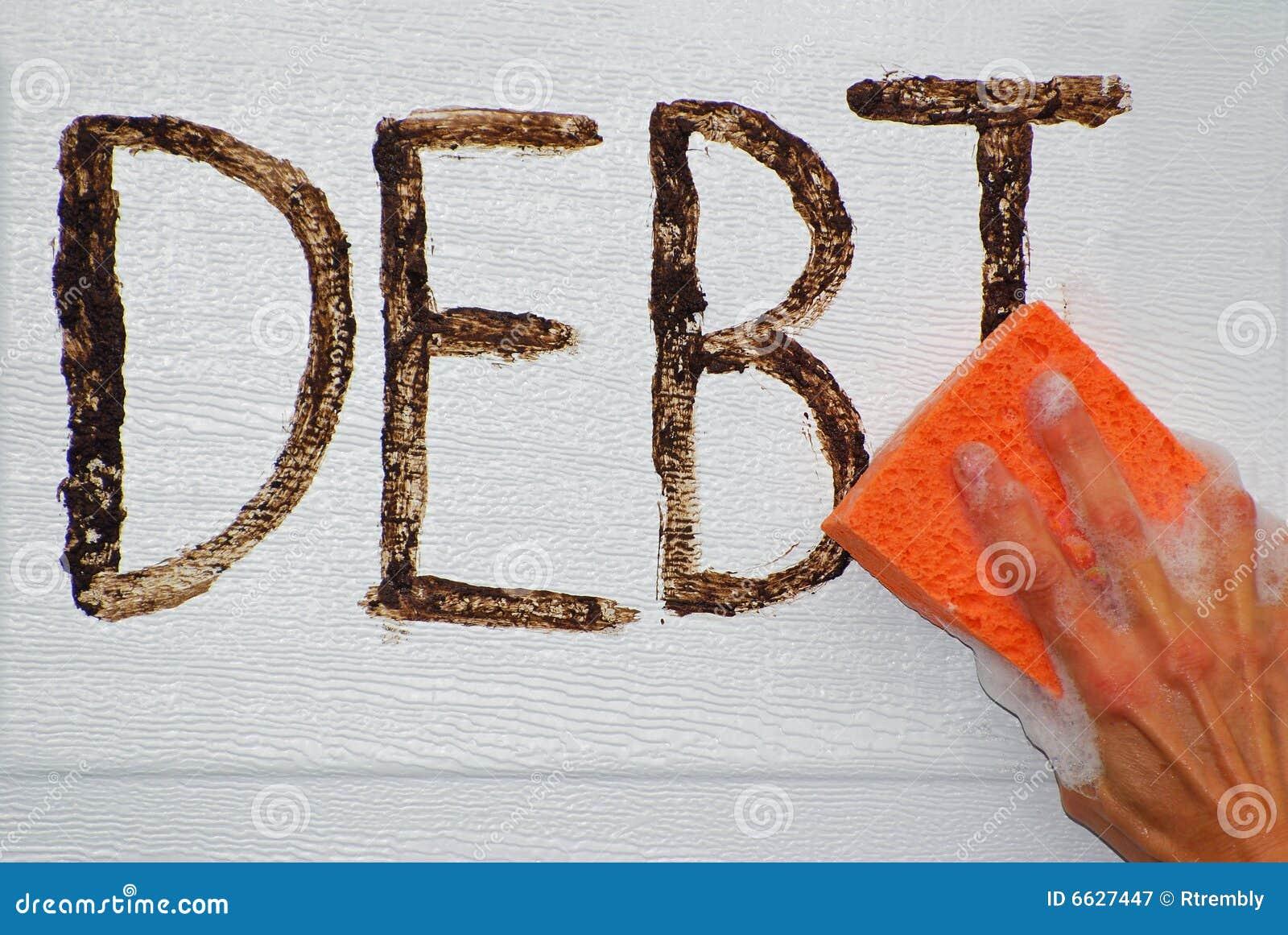 Limpando para fora o débito