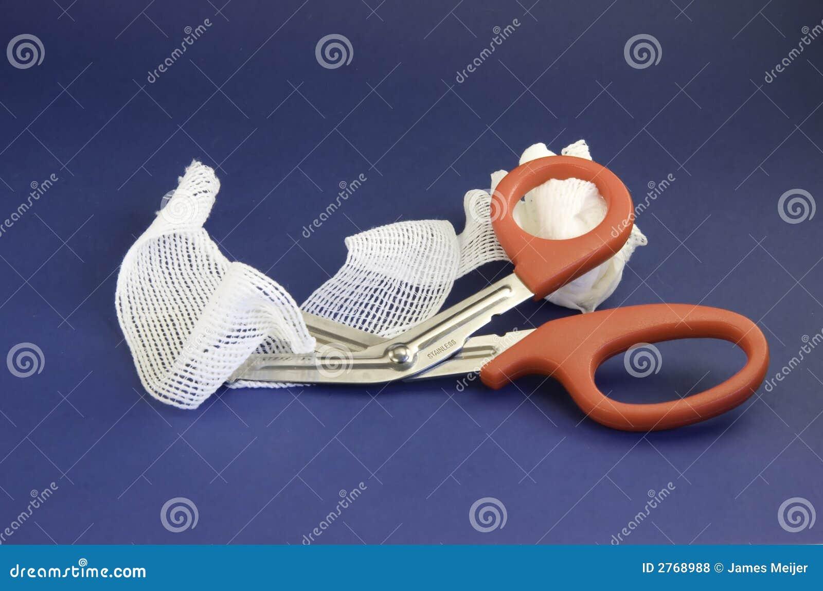 Limpeza e tesouras