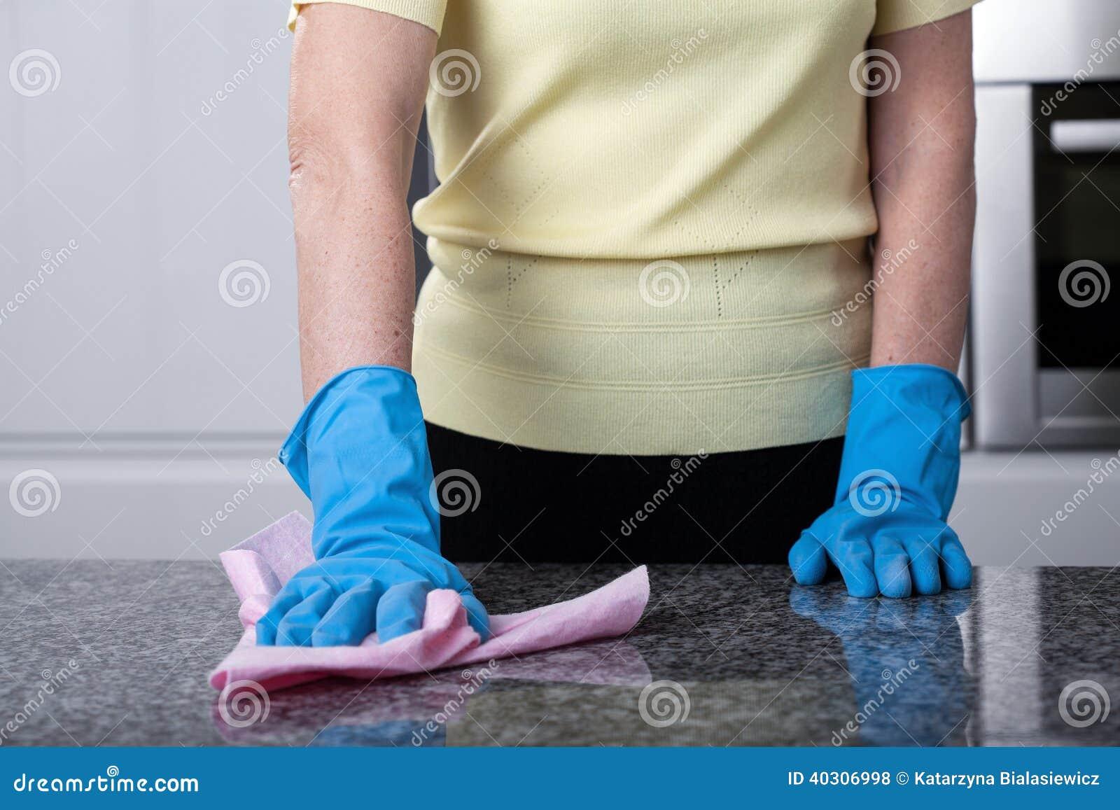 Limpeza superior da cozinha