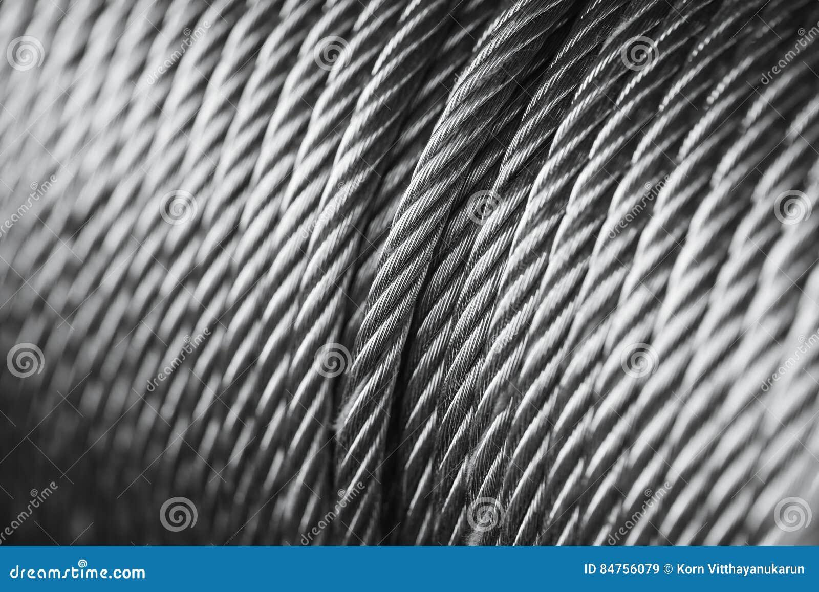 Limpie el alambre de acero o la cuerda de acero, tambor del nuevo cable de acero de la honda de la cuerda