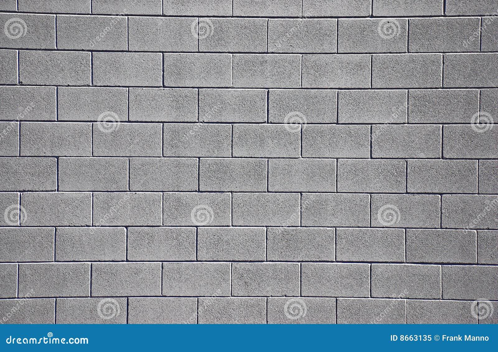 Limpie la pared de Cinderblock