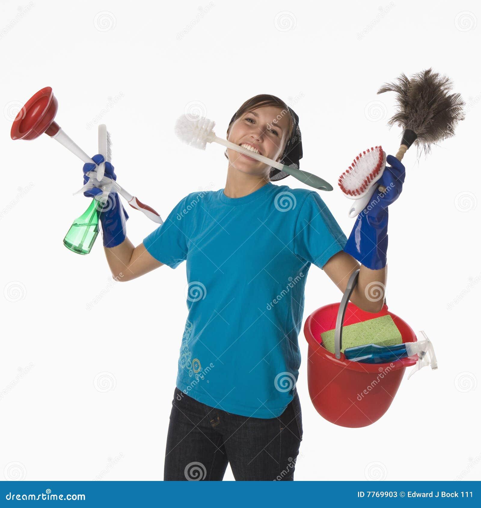 Limpieza de la casa fotos de archivo imagen 7769903 - Limpieza en casa ...