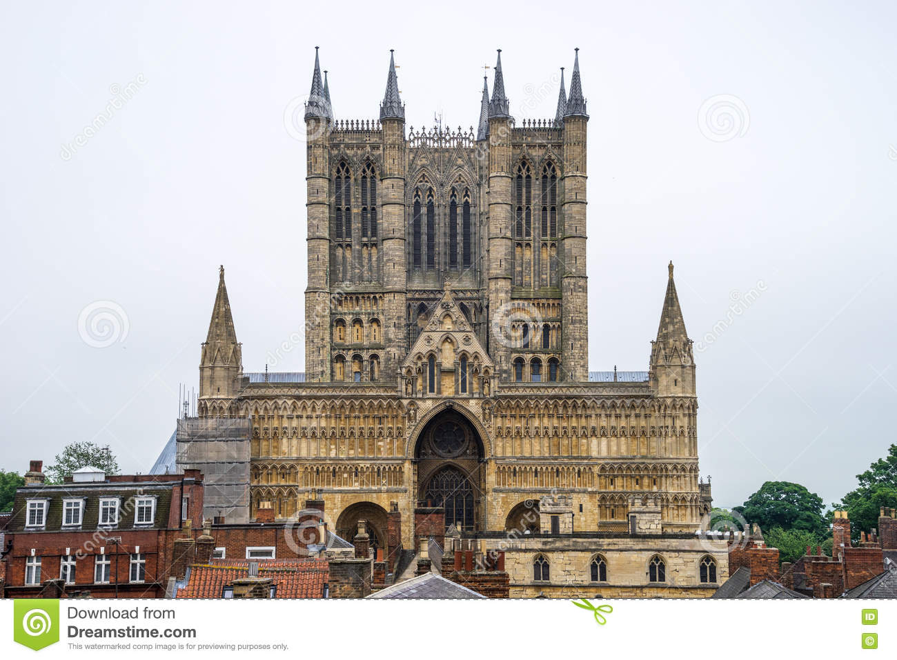 Download Lincoln Cathedral, Lincoln, England, Stock Photo - Image of building, england: 73772960