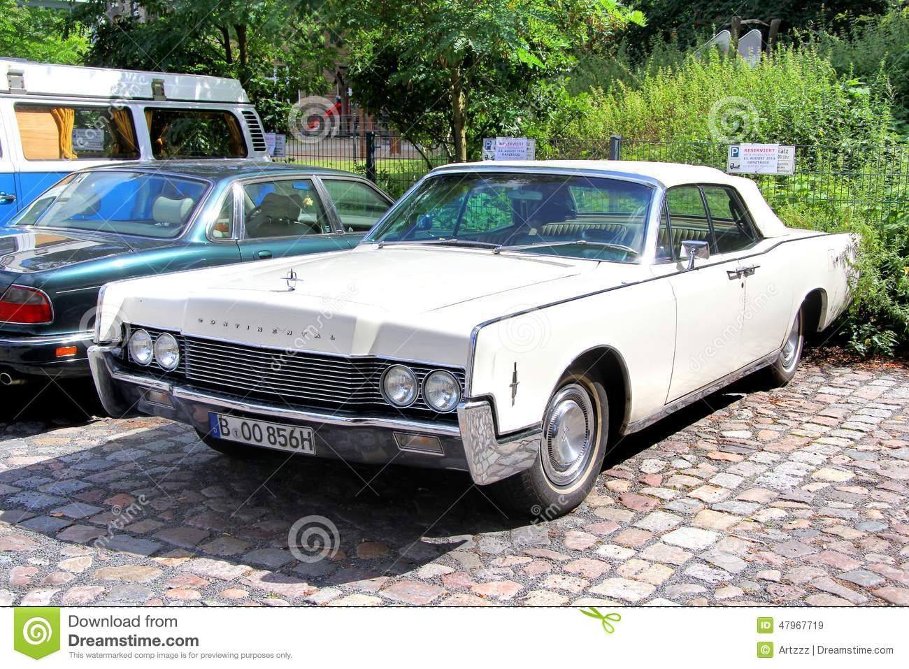 Lincoln Continental Editorial Stock Image Image Of American 47967719