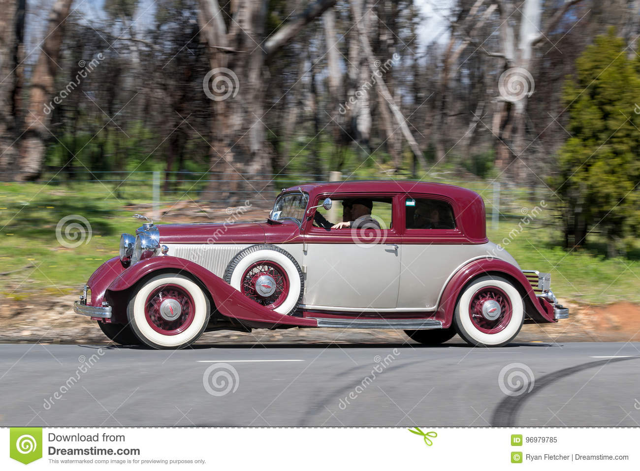 1933 Lincoln KA Victoria Coupe Editorial Image - Image of cars ...