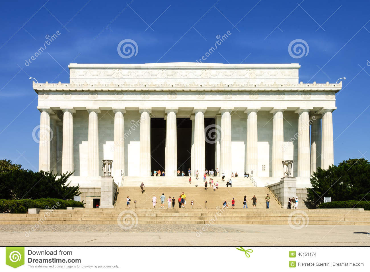 lincoln memorial building clipart. lincoln memorial building clipart